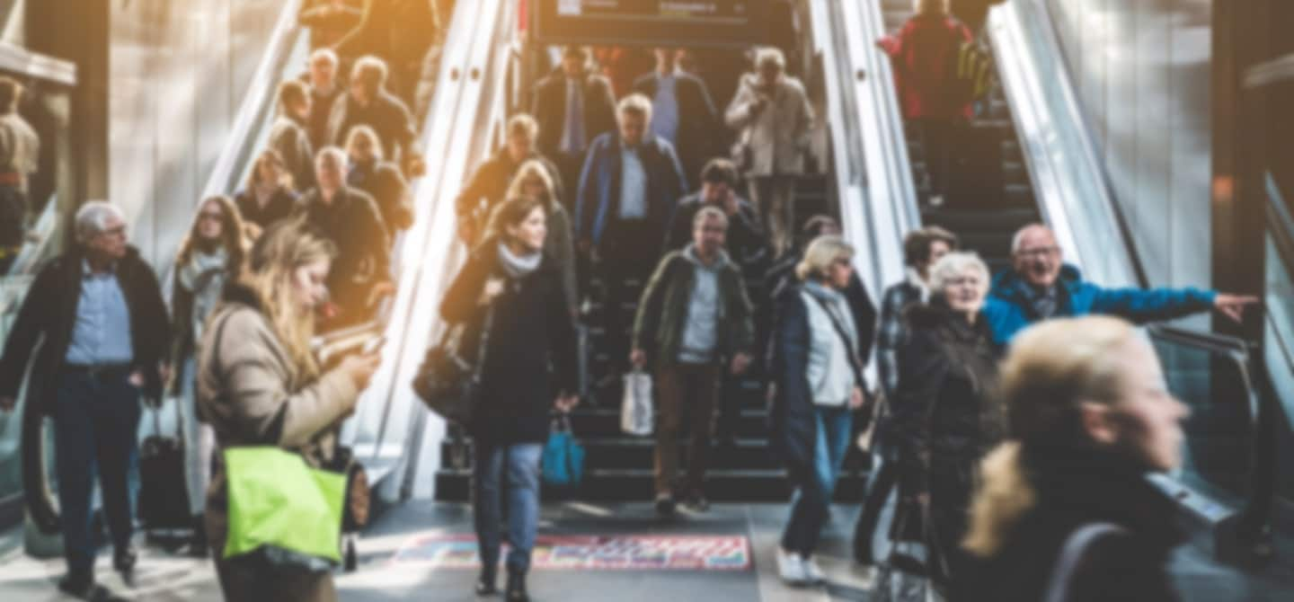 The escalator is our urban workhorse